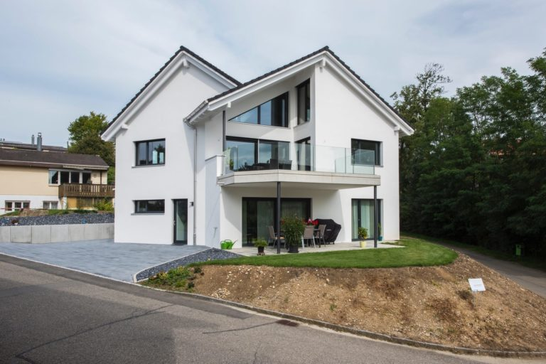 Neubau Zweifamilienhaus, Hofmatt, Oeschgen
