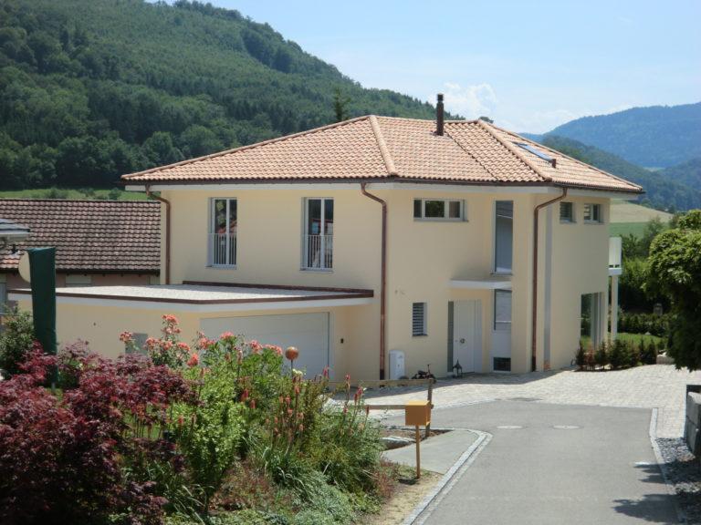 Neubau Einfamilienhaus, Steinenweg, Gipf-Oberfrick