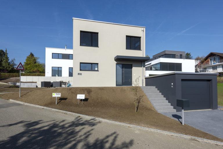 Neubau 2 Einfamilienhäuser, Gänseackerweg, Gipf-Oberfrick